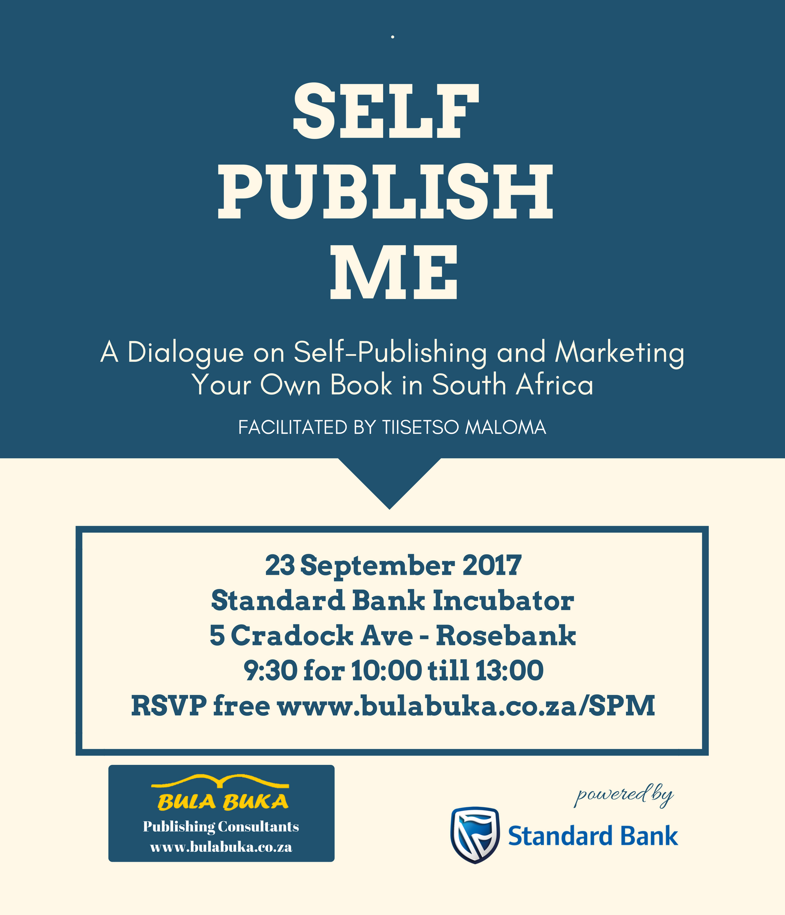 poster - Self Publish Me - Bula Buka - 23 Septermber 2017